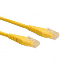 Patch Cord CAT6 7 x 0.18mm 1M YELLOW SIEMAX