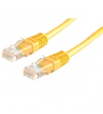 Patch Cord CAT6 7 x 0.18mm 5M YELLOW SIEMAX