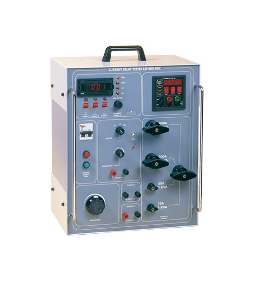 LET-400-RDC primary test equipment