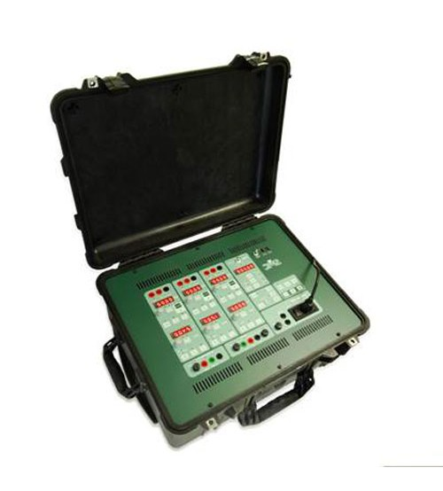 PTE-300-V three-phase relay tester