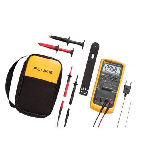 Fluke 87V/E2 Industrial Electrician Combo Kit