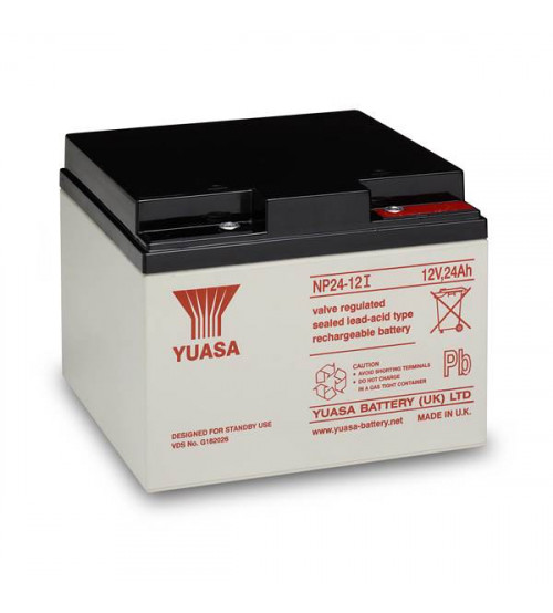 yuasa vrla battery 12v 24ah np24 12. Black Bedroom Furniture Sets. Home Design Ideas