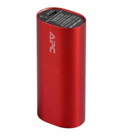 APC Mobile Power Pack, 3000mAh Li-ion cylinder, Red ( EMEA/CIS/MEA)