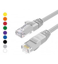 BNET CAT 6 UTP LSZH RJ45 PATCH CORD GREY 0.5M
