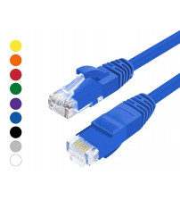 BNET CAT 6A UTP LSZH RJ45 PATCH CORD BLUE 0.5M
