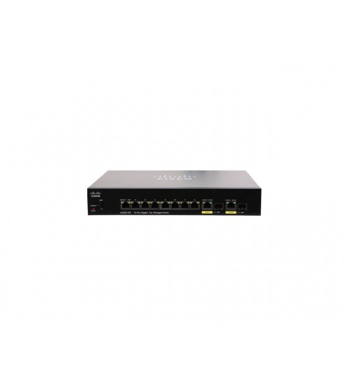 Cisco Small Business SG350-10P - switch - 10 ports - managed