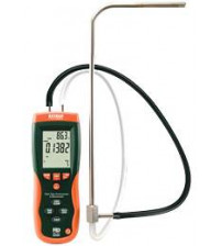 HD350: Pitot Tube Anemometer + Differential Manometer