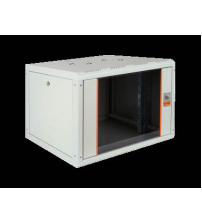 9U 600X560MM.RAL 7035 WR WALL MOUNTING CABINET_ORANGE STRIPE  WITHOUT FAN - PRL09U56_01M2T