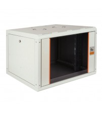 Cabinet 16U 600x560mm. Wall mounting, RAL 9005, Black