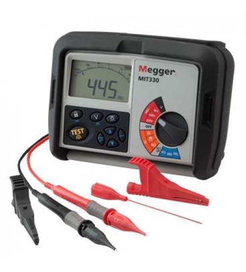 MIT330-EN Insulation Tester for Electricians (Industrial)