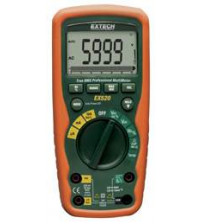 EX520: 11 Function Heavy Duty True RMS Industrial MultiMeter