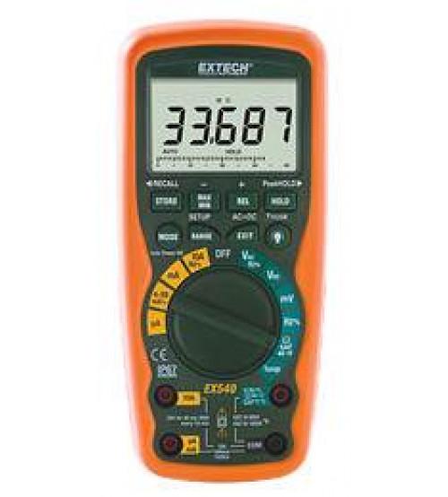 EX542: 12 Function Wireless True RMS Industrial MultiMeter/Datalogger