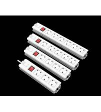 EXT.SKT.6 Way UK Socket 5mtrs UK Plug