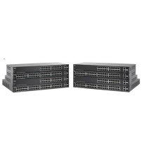 24-Port 10/100 smart switch PoE 180W