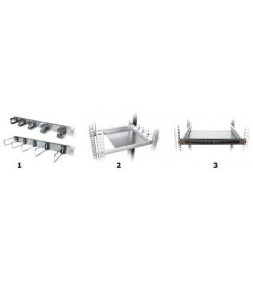 "Management panels & cable shelfs 19""/1U - 1407689"