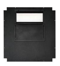 PLATE BLACK 600X800mm