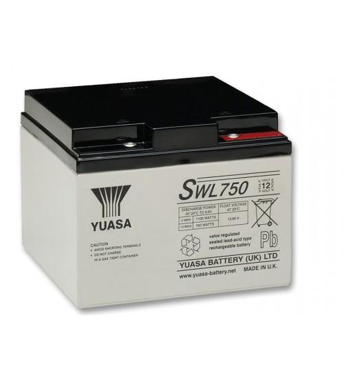 YUASA VRLA Battery 12V 24.4AH / SWL750