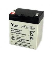 YUASA VRLA Battery 12V 5AH - Yucel / Y5-12