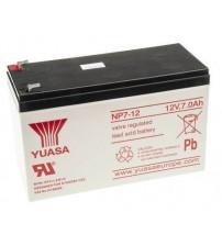 YUASA VRLA Battery 12V 7AH / NP7-12