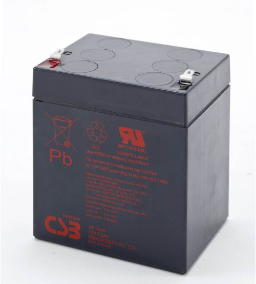 GP1245 / CSB VRLA Battery 12V 4.5AH