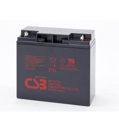 GP12170 / CSB VRLA Battery 12V 17AH