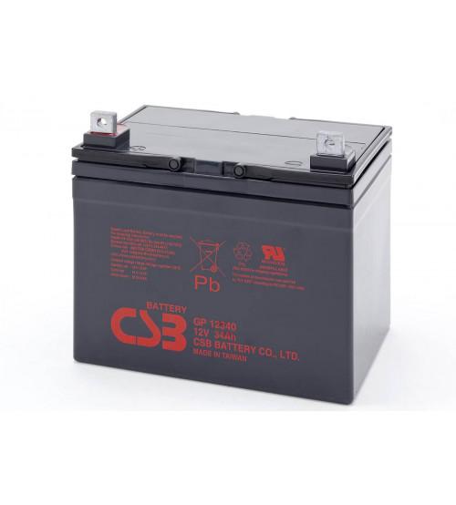 GP12340 / CSB VRLA Battery 12V 34AH