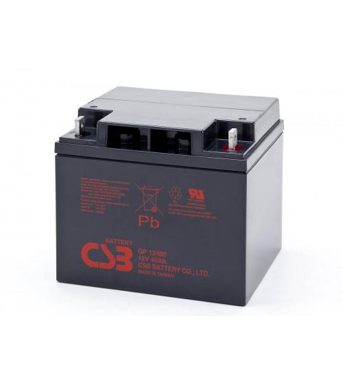 GP12400 / CSB VRLA Battery 12V 40AH