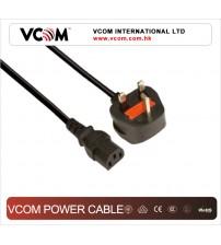 VCOM UK Type Power Cord