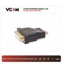 VCOM HDMI 19F/DVI 24+1MGold plated