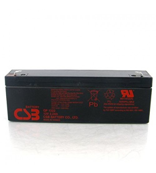 Csb Battery Technologies GP1222 12V LEAD ACID BATTERY 2200MAH
