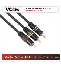 VCOM 3.5 M/M 3RCA Video Audio Cable