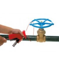 All Purpose Cable Lockout with Non-Conductive Nylon Cable - 2.44 m