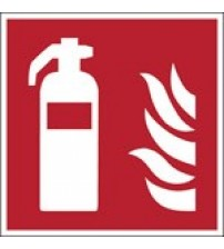 ISO Safety Sign - Fire extinguisher