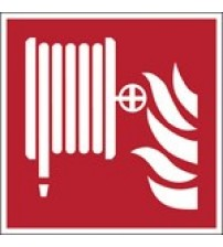 ISO Safety Sign - Fire hose reel