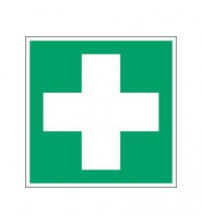 ISO Safety Sign - First aid