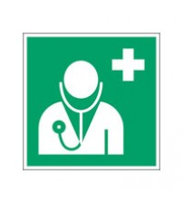 ISO Safety Sign - Doctor