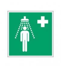 ISO Safety Sign - Safety shower