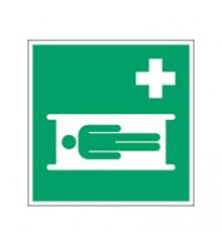 ISO Safety Sign - Stretcher