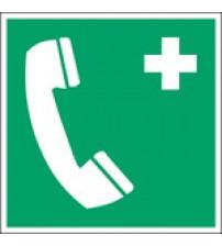 ISO Safety Sign - Emergency telephone