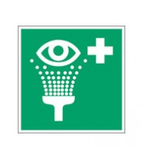 ISO Safety Sign - Eyewash station