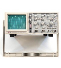 30MHz 2-Channel Dual Trace Analog Oscilloscope