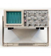 20MHz, 2-Channel Dual Trace Analog Oscilloscope