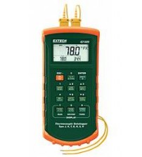 421509: 7 Thermocouple Dual Input Datalogger with Alarm