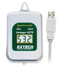 42275: Temperature/Humidity Datalogger Kit with PC Interface