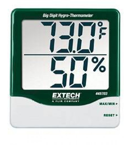 445703: Big Digit Hygro-Thermometer