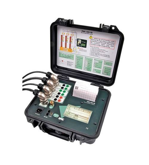 PME-500-TR circuit breaker test set